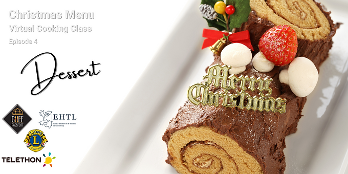 French Christmas Menu for Telethon - Episode 4 - Dessert