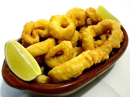 Argentina - Fabian Vitale - Rabas a la Proven�al ( Deep fried squid ring provencal style)Virtual Cooking Class