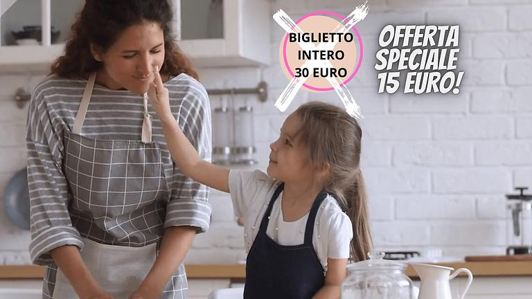 Lezione di Pasticceria Online in Diretta per Mamma e Bambino