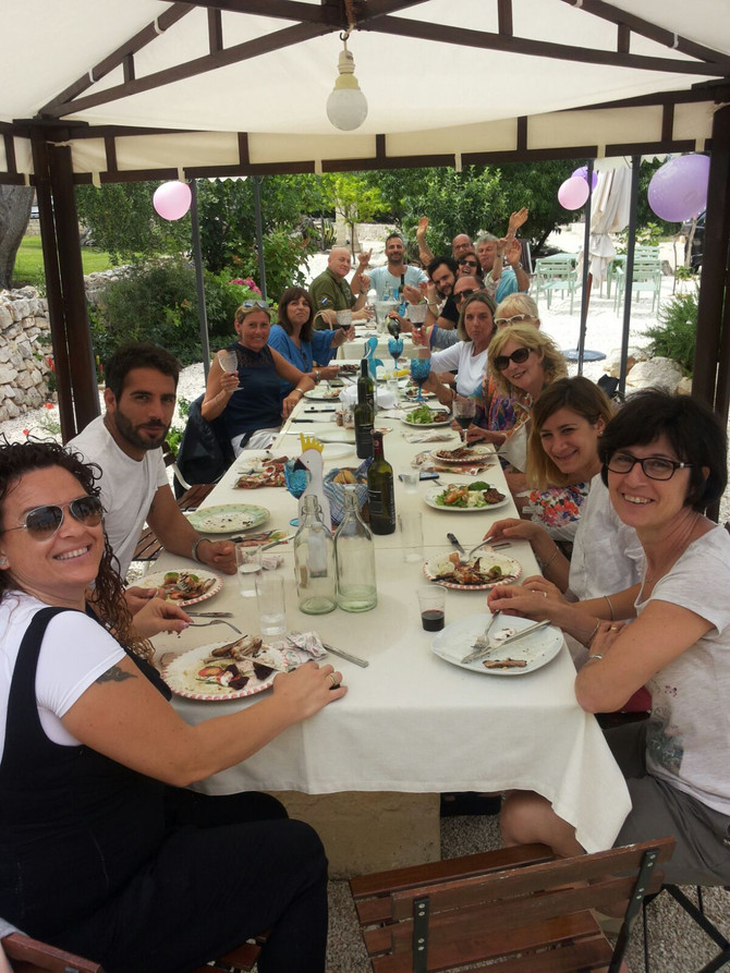 Looking for a venue for a celebration? Come to Masseria Due Torri