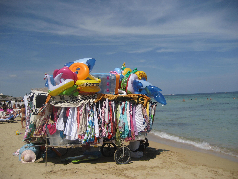 Shop on the Beach!