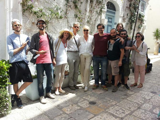 Filming in Polignano this week...