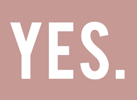 "Just Say ""Yes"""