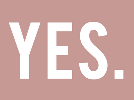 """Just Say """"Yes"""""""