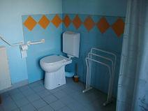 Toilettes adaptées PMR en bourgogne
