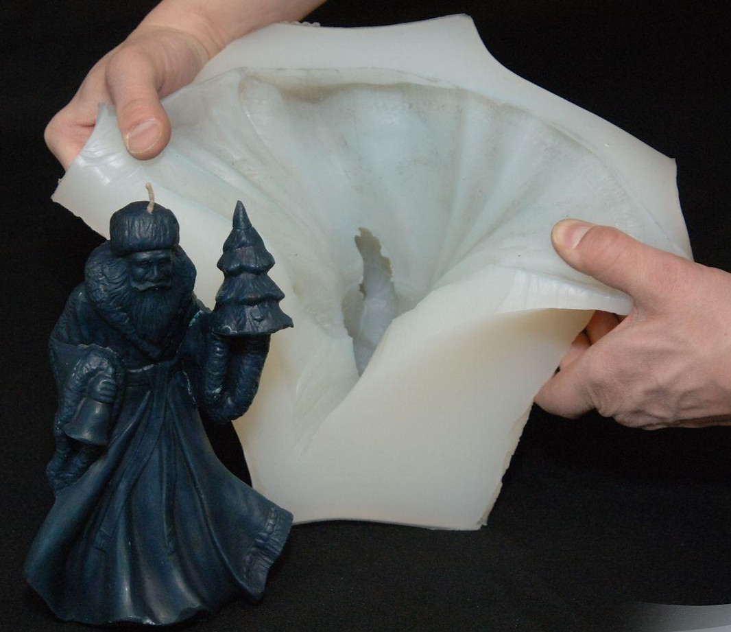 Platinum cure silicone for mold making