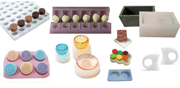Addition mold making silicone rubber