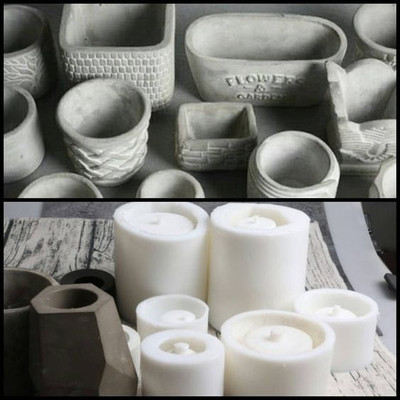 Liquid Silicone for vase mold making