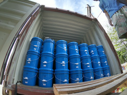 liquid silicone rubber container loading