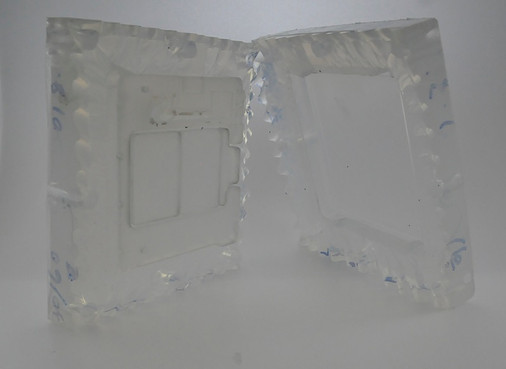 Temporarily mold making silicone rubber