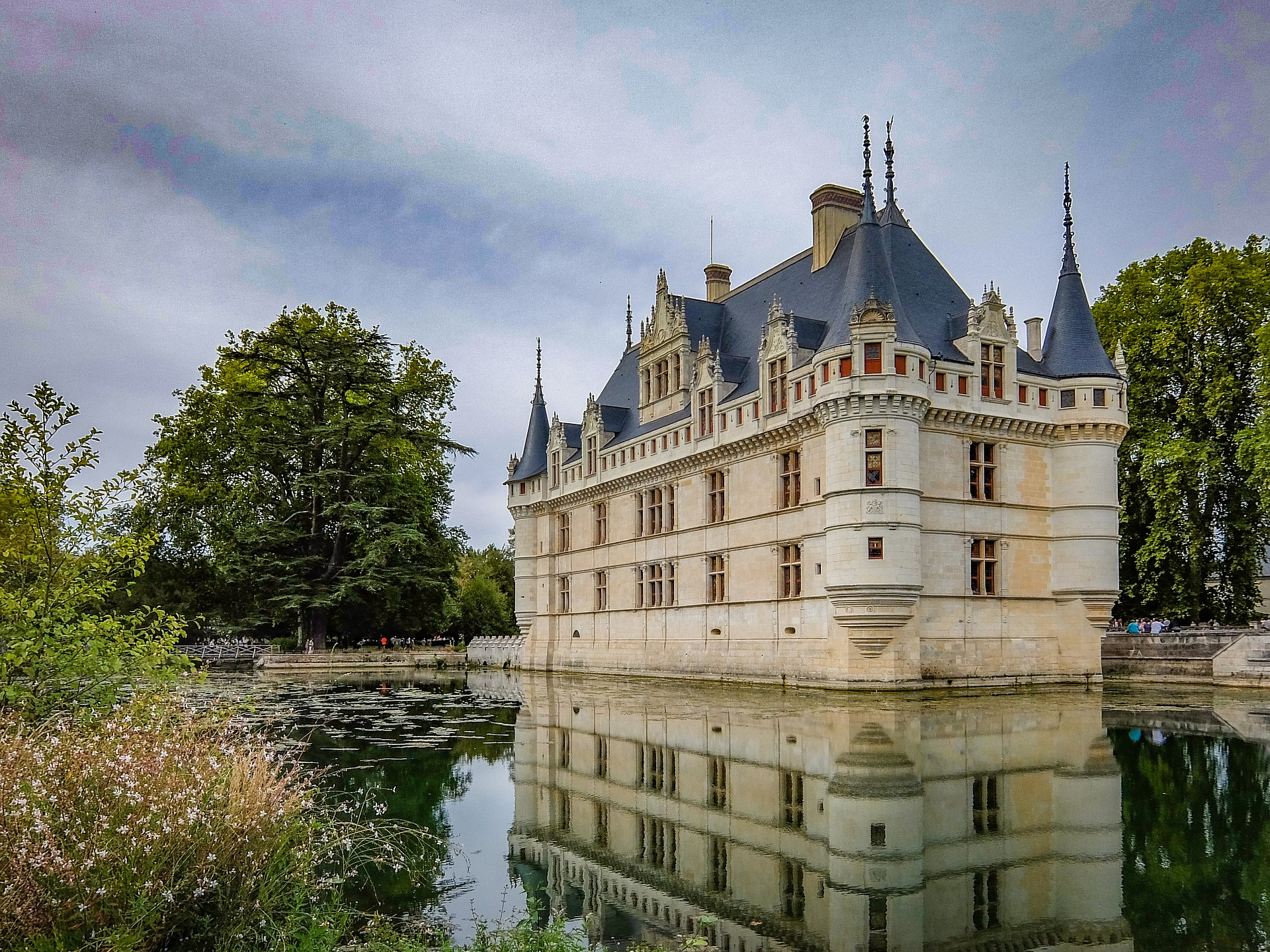 Chateaux d'Azay le rideau