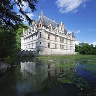 Chateau de Azay  le Rideau prés de  Akwaba mobil-home