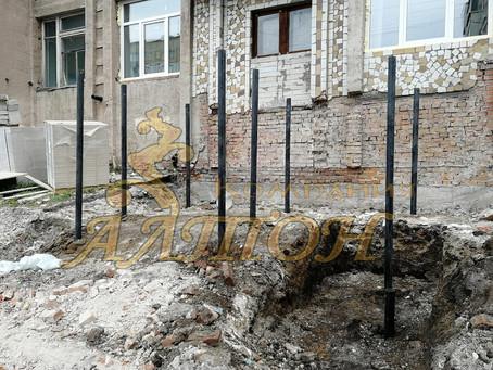 Монтаж винтовых свай под Крыльцо г. Кемерово, ул. Тухачевского