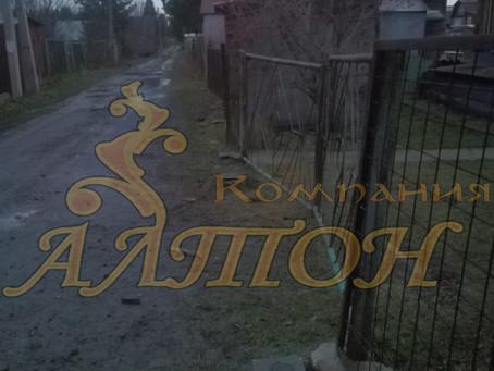 """Изготовление и Монтаж винтовых свай под забор """"снт Строитель"""""""