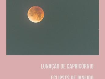 10º Lunação em Capricórnio e Eclipses de janeiro 2019