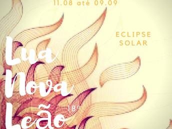 5ª Lunação de 2018 em Leão - Eclipse Solar