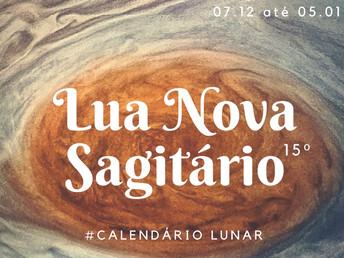 9ª Lunação de 2018 em Sagitário