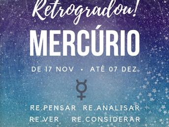 Mercúrio Retrógrado em Sagitário