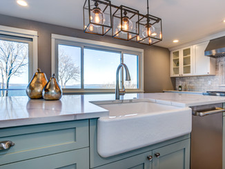 We can help with kitchen remodels.