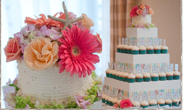 York Maine Baby Shower cake