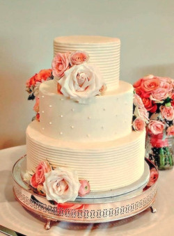 Southern Maine wedding cake