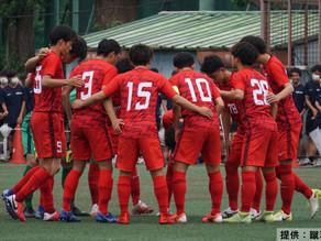 サッカー 一時逆転も青山学院大に引き分ける