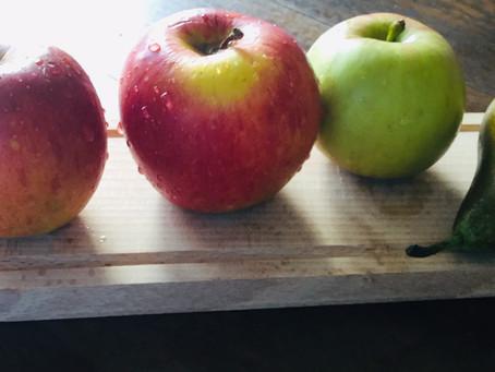 No Waste! Appelmoes van (bijna) rimpelige appeltjes