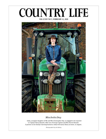 Hair and Makeup for Countrylife Magazine, for and behalf of Mach Management