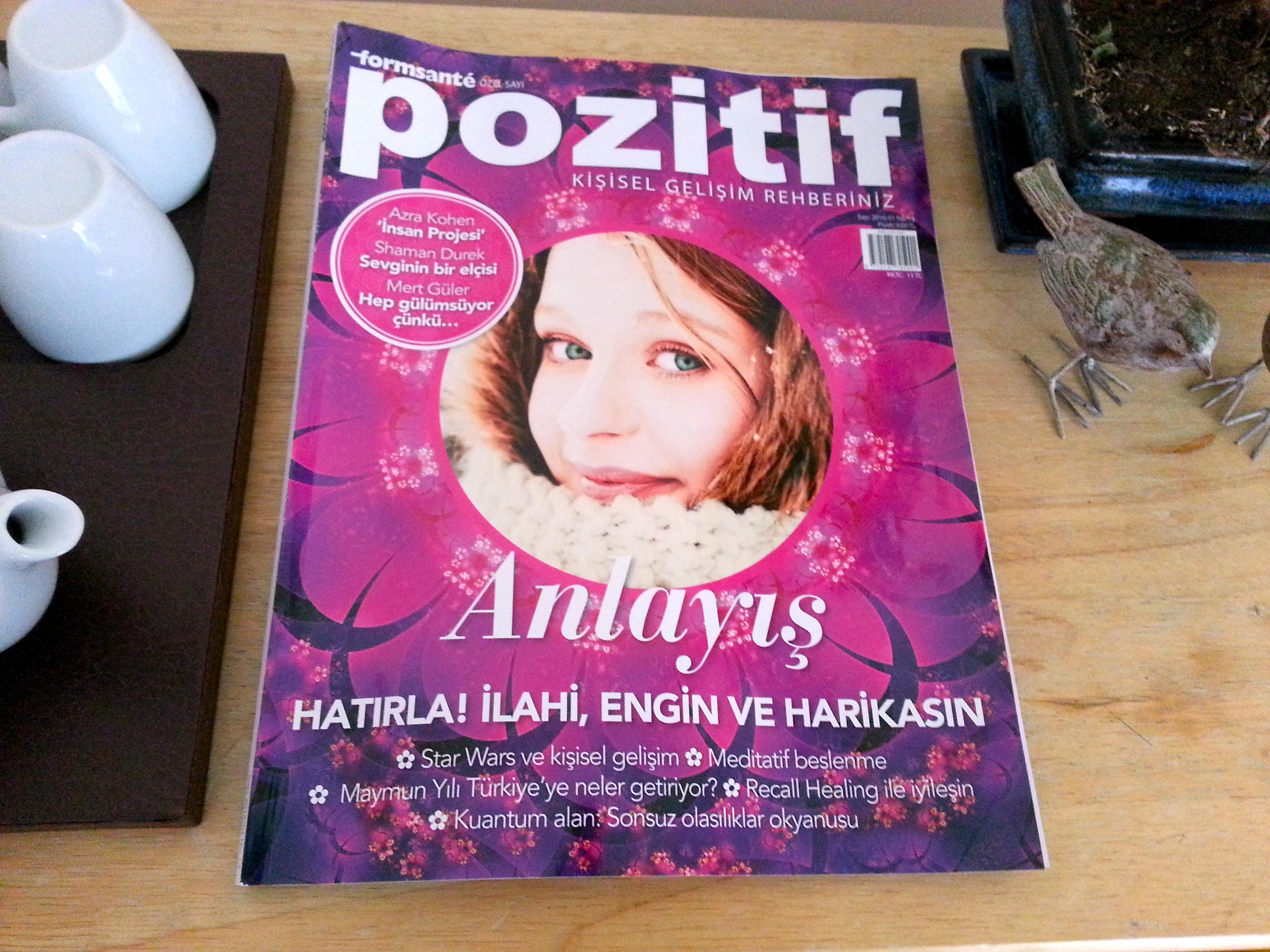 Pozitif dergisindeyiz