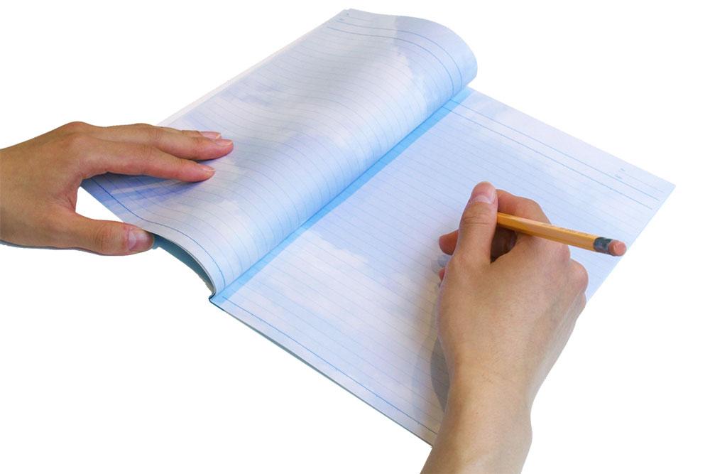 空のノート