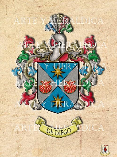De Diego escudo vintage PDF