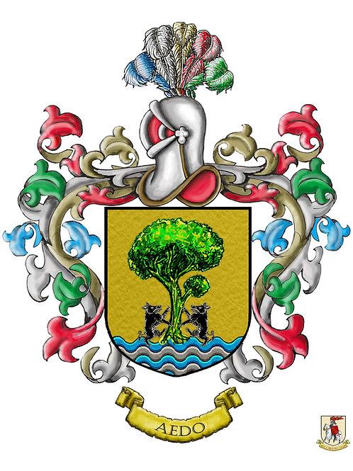 escudo del apellido en pdf