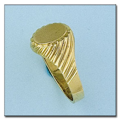 Sello oro 18 Kl. 11x13 mm. 5,95 gr. para grabar