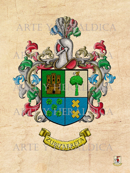 Zubizarreta escudo vintage PDF