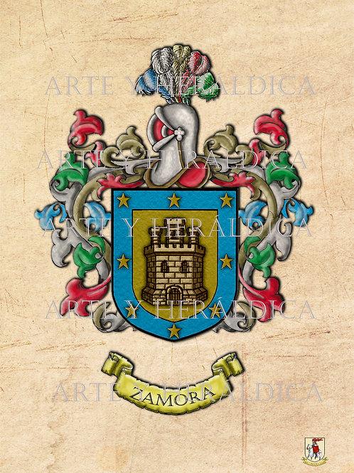 Zamora escudo vintage PDF