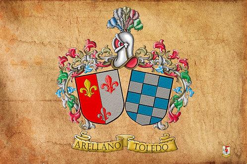 escudos apellidos aniversaarios