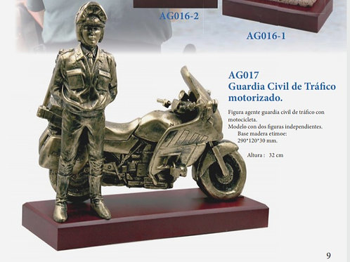 Guardia Civil de tráfico motorizado.