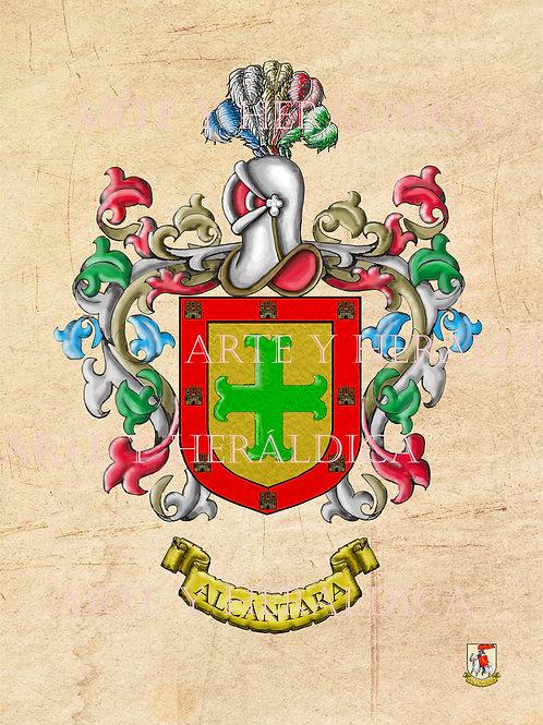 Alcántara escudo vintage en PDF
