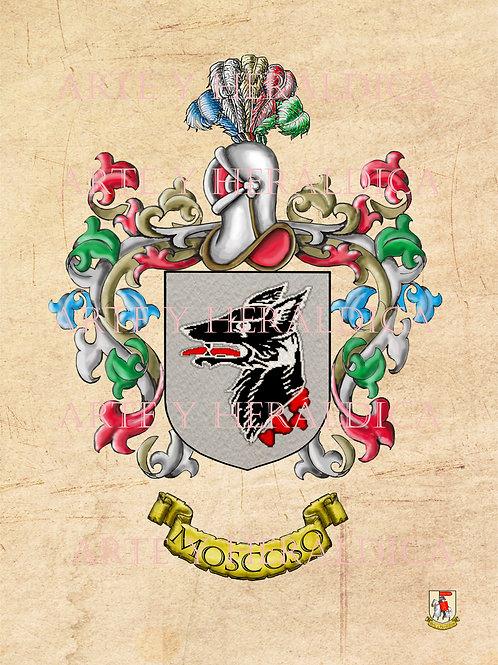 Moscoso escudo vintage en PDF