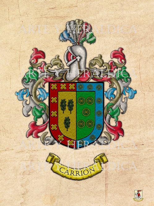 escudo del apellido Carrion