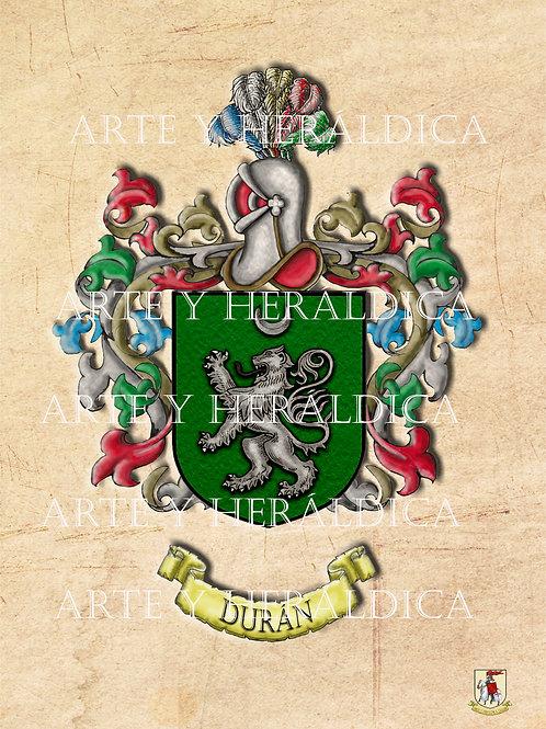 Durán escudo vintage PDF