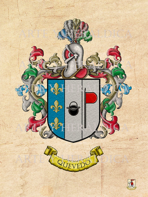 Quevedo escudo vintage PDF