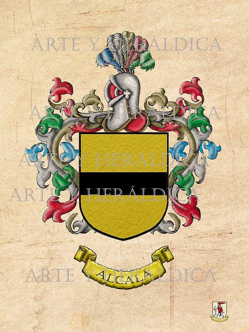 Alcalá escudo Vintage en  PDF