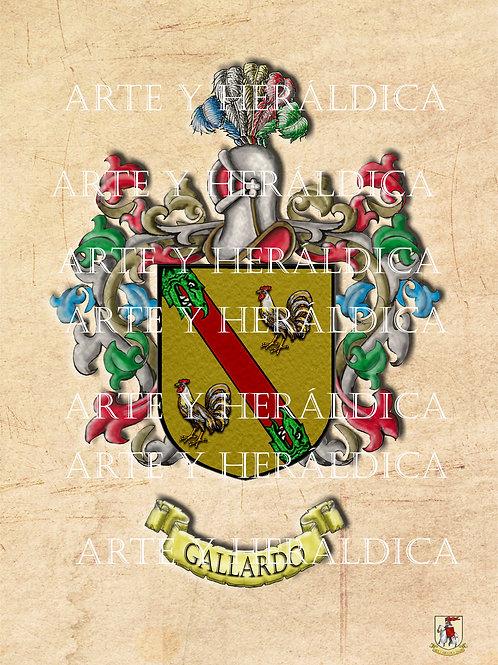 Gallardo escudo vintage PDF