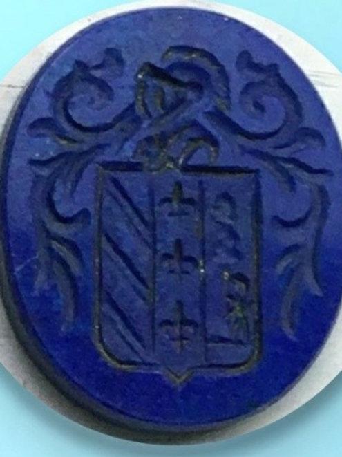 lapislazuli-grabado-escudo-del-apellido