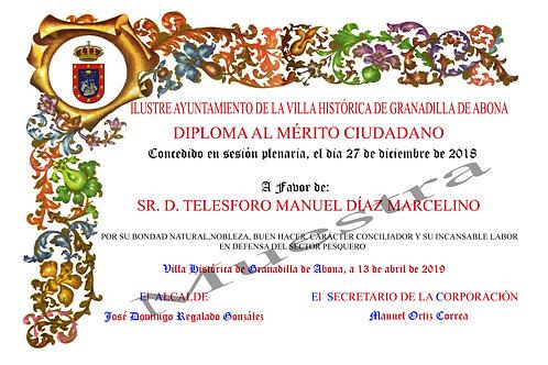 diploma impreso