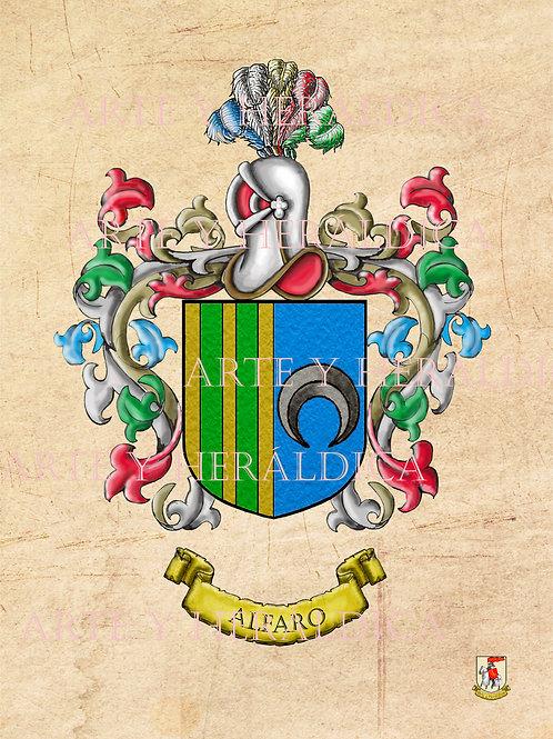 Alfaro escudo vintage en PDF