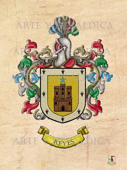 Reyes escudo vintage PDF