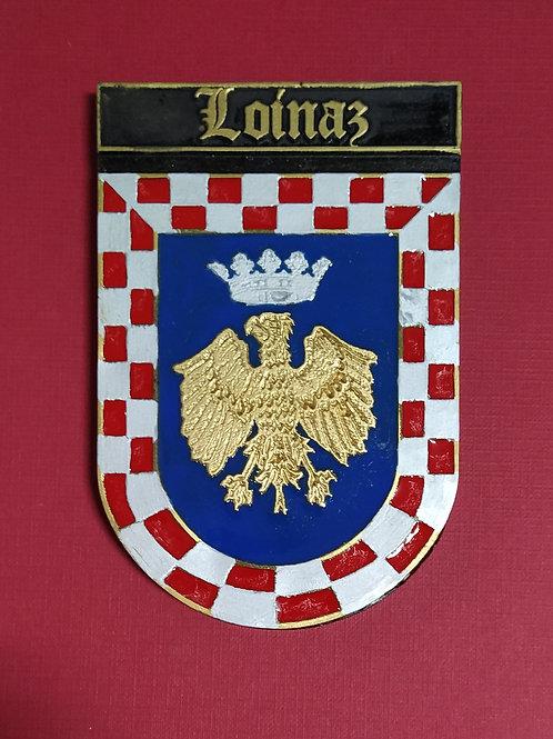 Loimaz ( escudo del apellido en esmalte)