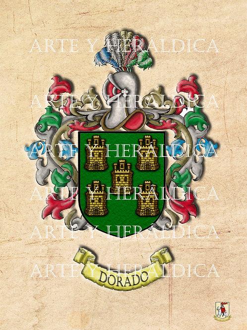 Dorado escudo vintage PDF